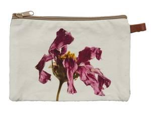 Bilde av  Cosmetic bag-Fading Flower-Black, 20x14 cm