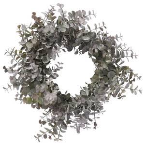 Bilde av Eurelia kransØ33cm. støvet grønn