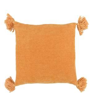 Bilde av Orange putetrekk med dusker 45x45 cm